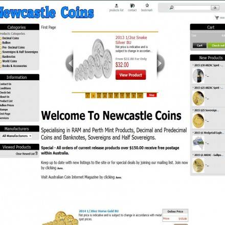 newcastle-coins