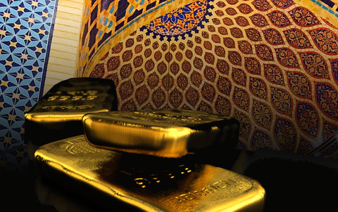 buying gold bullion in dubai - gold and souk overlay