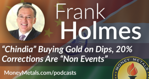 """Frank Holmes Interview: """"Chindia"""" and 20% Corrections"""
