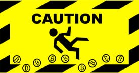 bitcoin-caution