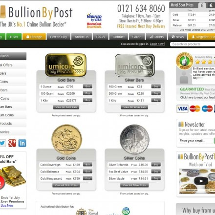 bullion-by-post
