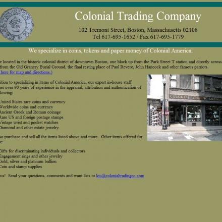 colonial-trading-company