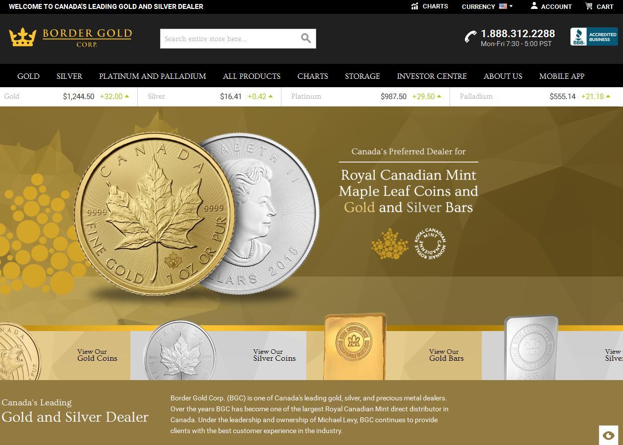 border gold corp