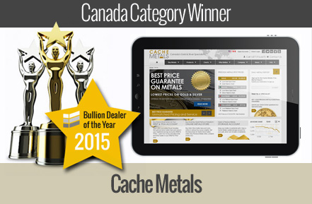 cache metals - winner canada bullion dealer of the year