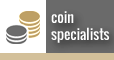 coin and numismatic dealers