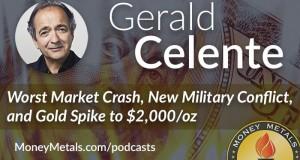 Gerald Celente Sees Market Crash and Gold Spike to $2,000/oz