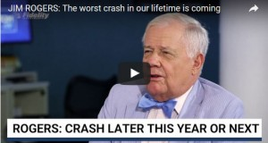 Jim Rogers: Get Ready for the Worst Crash in Our Lifetime