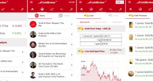 GoldBroker Android App Launches