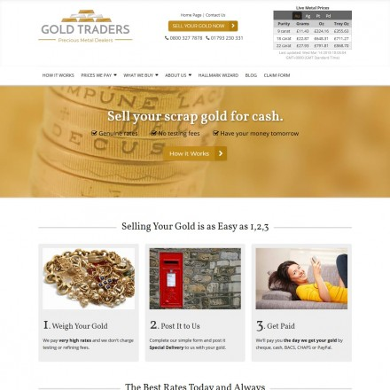 UK scrap gold buyer listings: view all gold buyers, Sellers