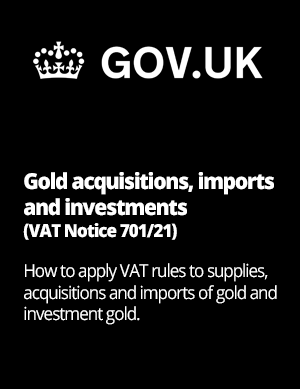 UK tax on gold hmrc reference