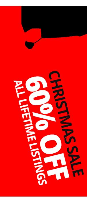 Christmas Listing Sale