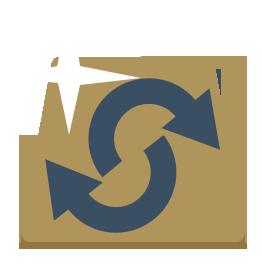 gold ira rollover icon