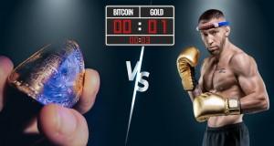 Gold 1 - Bitcoin 0